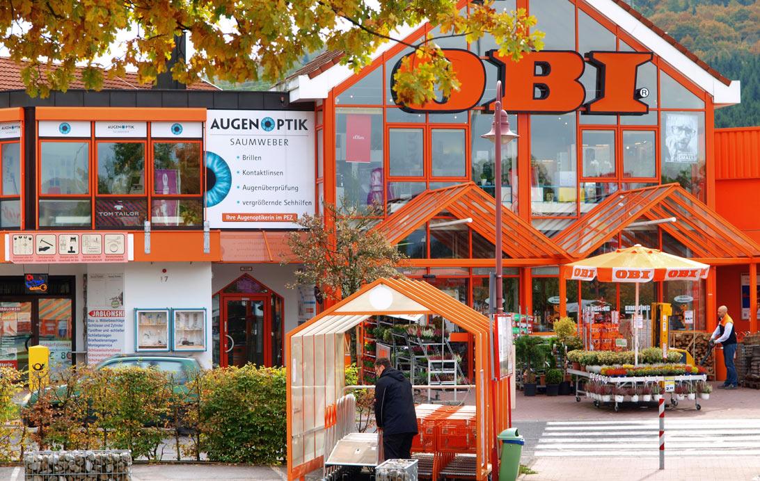 OBI Baumarkt und Gartencenter