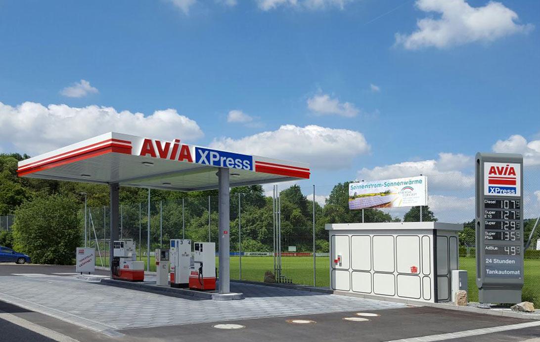 AVIA Xpress Tankstelle im PEZ