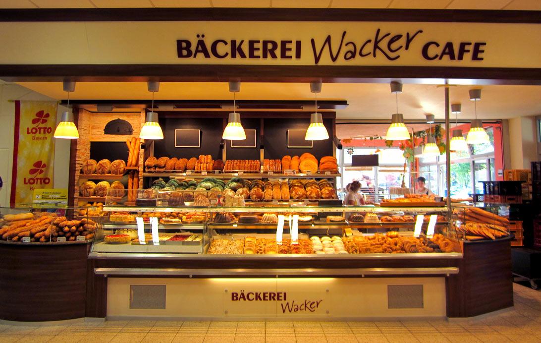 Bäckerei Wacker, frisches Brot und Gebäck