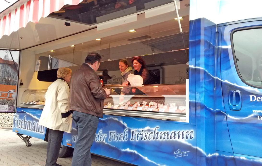 Fisch Verkauf und Imbiss